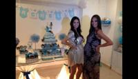 Sully Sáenz: Fotos del baby shower de la modelo  - Noticias de sully saenz