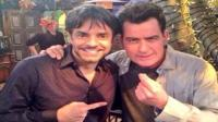 Eugenio Derbez junto a Charlie Sheen en 'Anger Management' - Noticias de devolucion