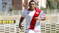 Christian Cueva anotó 'hat trick' en debut con Rayo Vallecano B